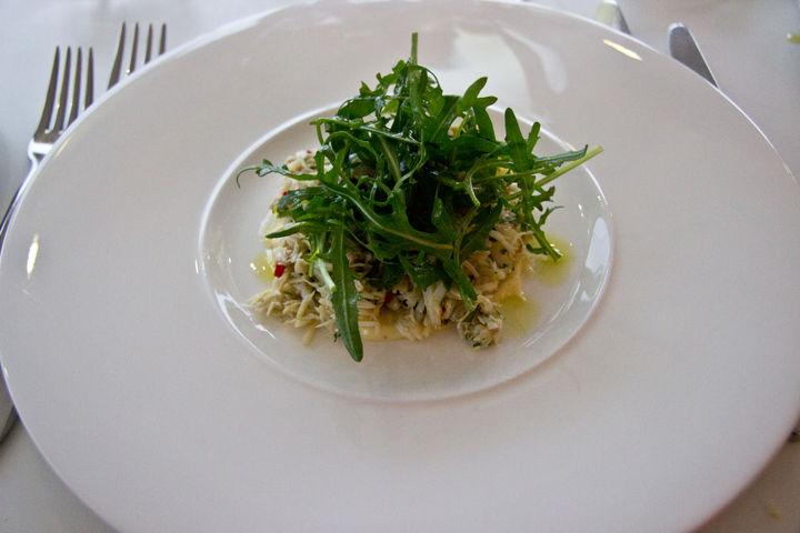 fifteen cornwall menu crab risotto