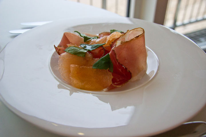 fifteen cornwall menu proscuitto and melon
