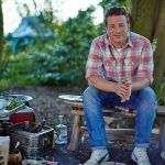 jamie oliver doing outdoor cooking