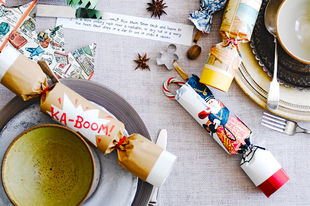 How to make homemade Christmas crackers