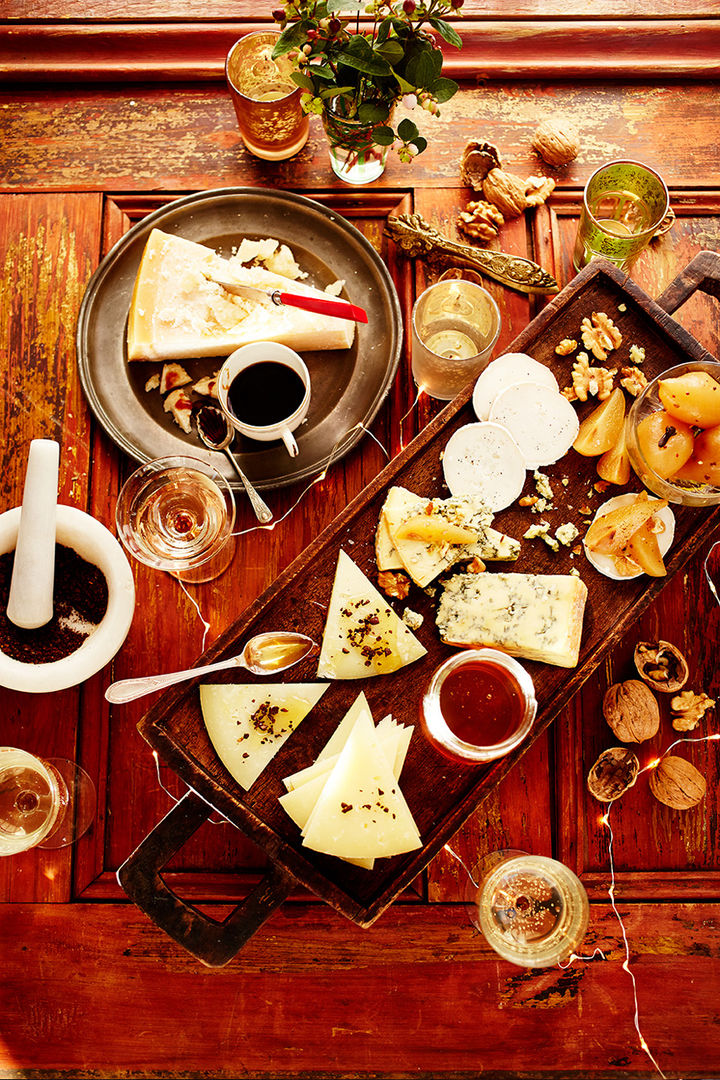 new years cheeseboard