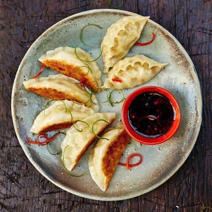 dim sum potstickers dumplings