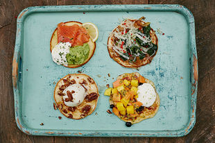 Four ideas for incredible pancake toppings