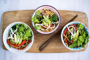 Wonderful one-bowl dishes inspired by China