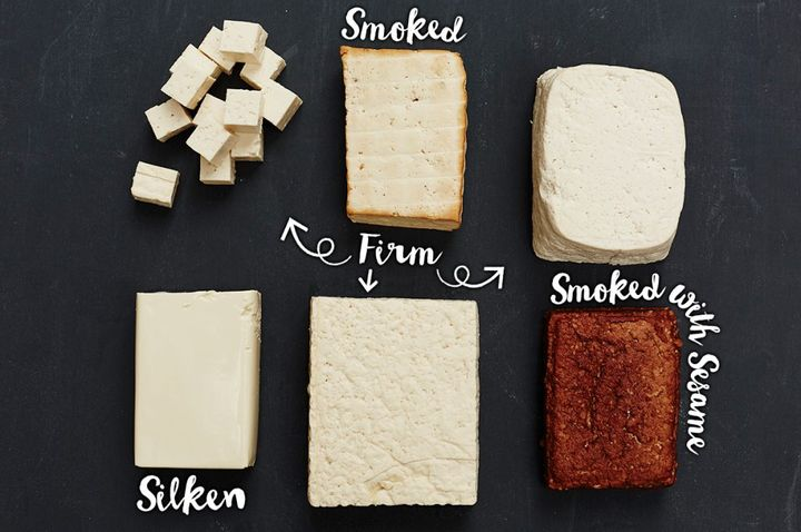 different kinds of tofu