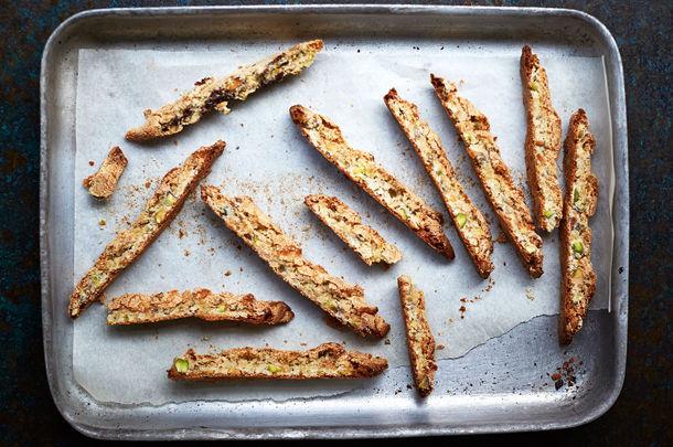 Gluten-free baking - biscotti recipe