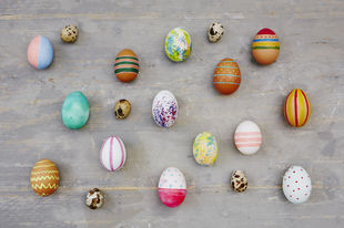 Why eggs are perfect at Easter