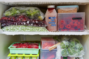 Cutting food waste: fabulous freezer tips