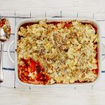 Tips for new mums - chickpea vegetarian pie