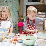 edible gifts being made by children for christmas