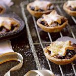 gluten free mince pies with star pastry tops and icing sugar sprinkled