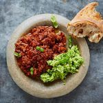 kid goat ragu recipe in a bowl with
