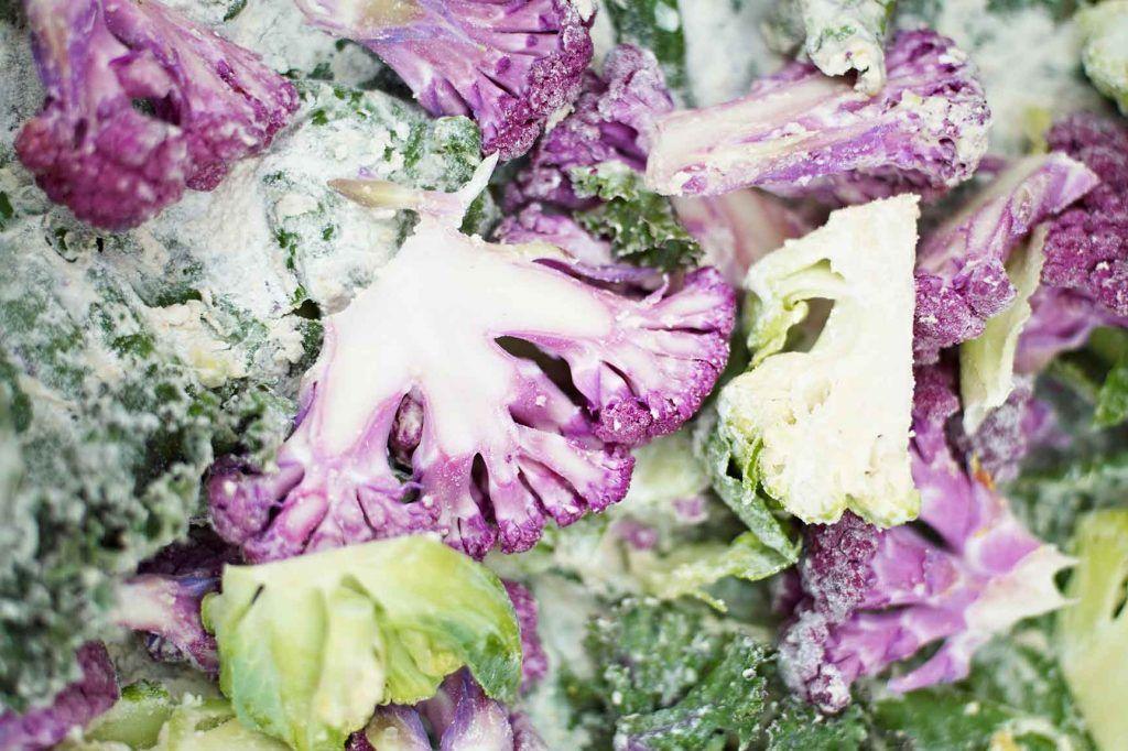 January seasonal vegetables - cauliflower