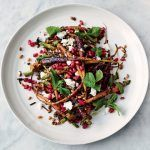 summer salad recipes carrot grain salad
