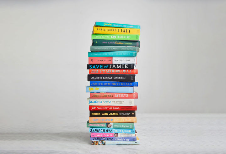 Jamie's books all published by Penguin Random House