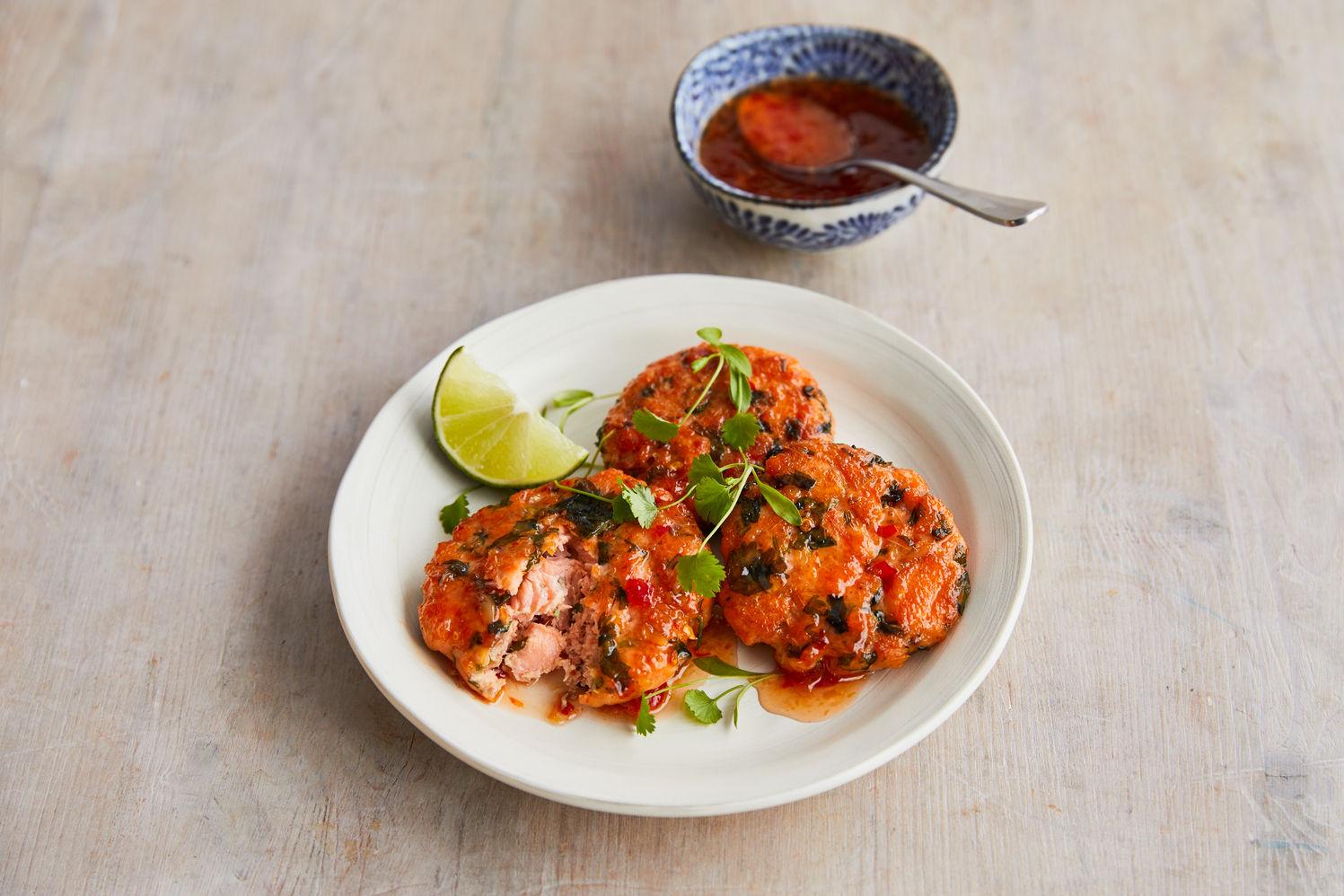 Jamie Oliver Kitchen fishcakes