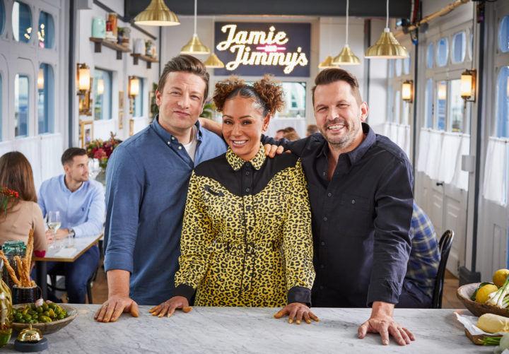 Jamie, Jimmy & Mel B