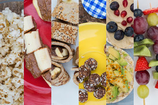 Healthy snacks for kids (and their families)