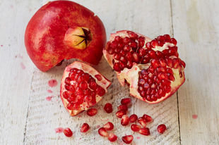 The power of pomegranates