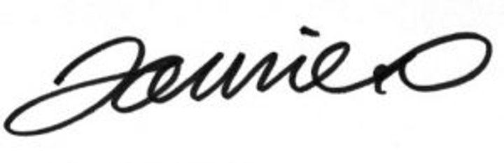 Jamie Oliver signature