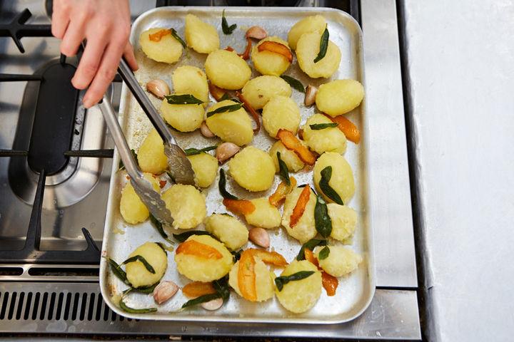 Roast potatoes - step four