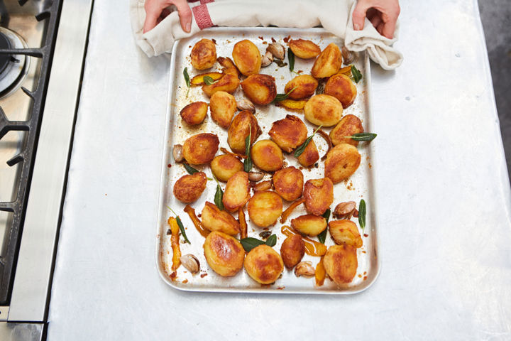 Roast potatoes - step five