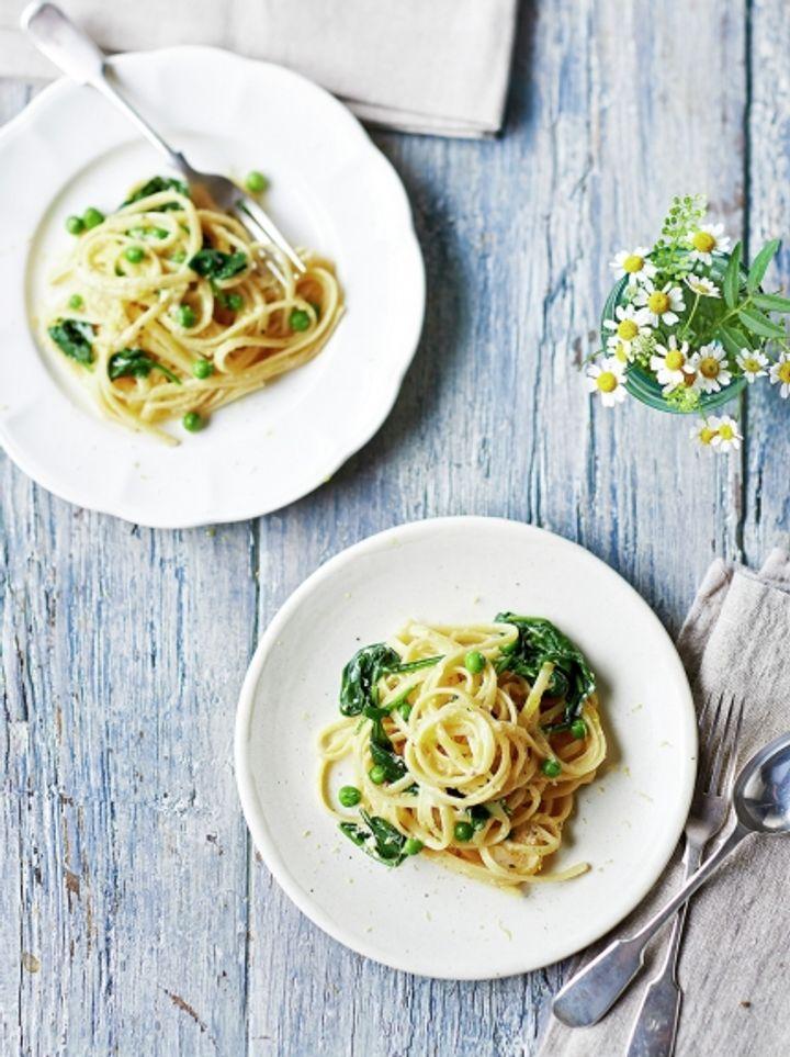 Perfect carbonara - veggie