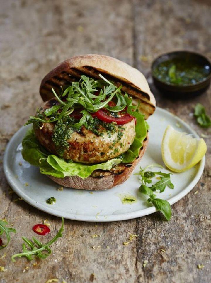 Ultimate burger - tuna