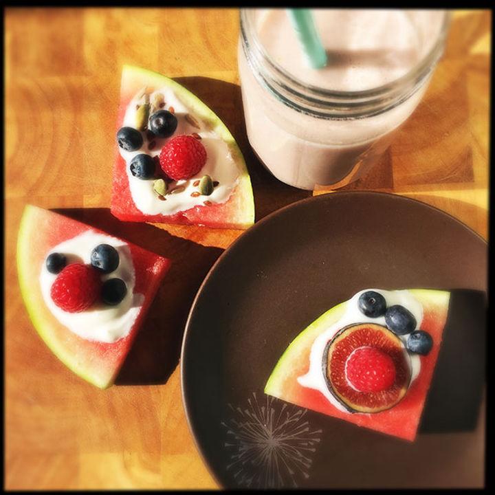 breakfast fruit recipe – watermelon