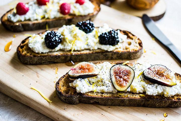 Breakfast fruit recipe - lemon