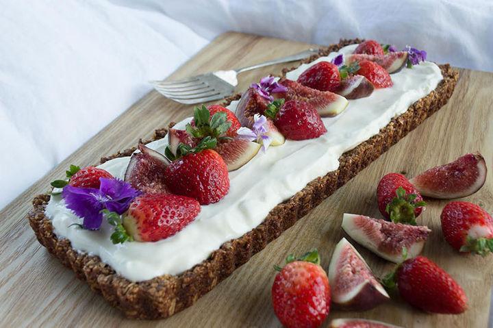 Breakfast fruit recipe - strawberry