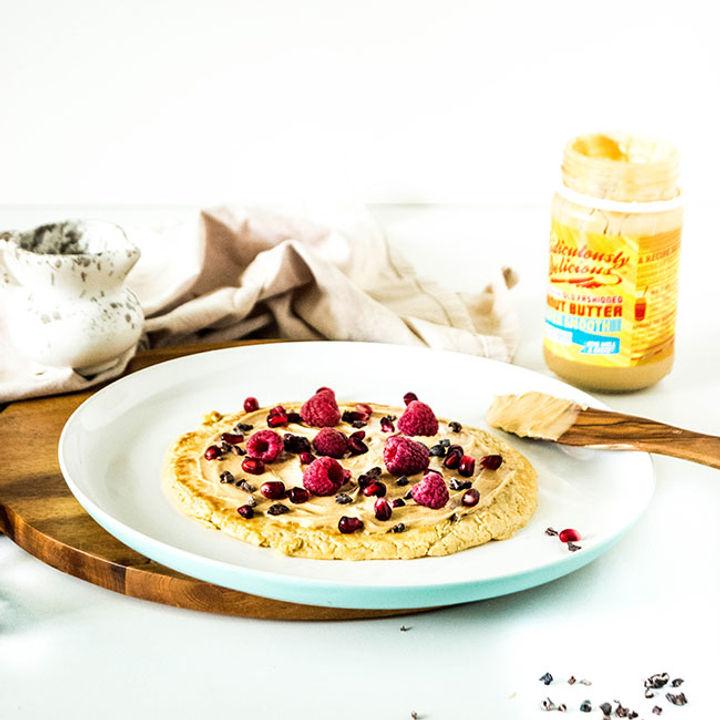 Breakfast fruit recipe - pancakes