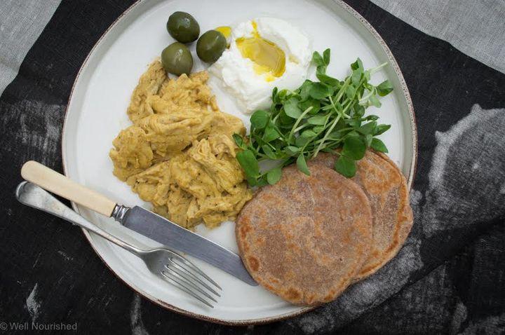 Geogria H - scrambled egg