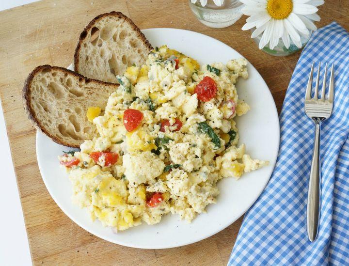 Jen Farr - scrambled eggs