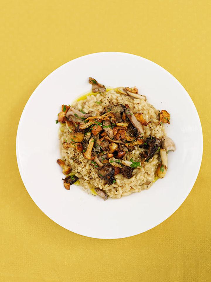 Mushroom - perfect risotto