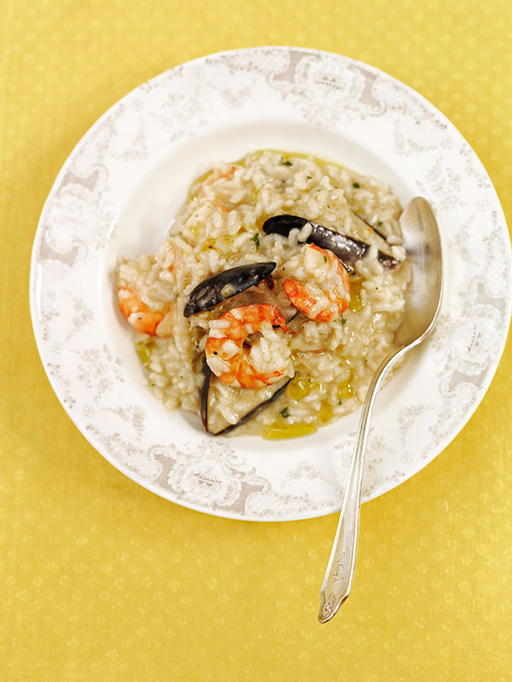 Seafood – perfect risotto