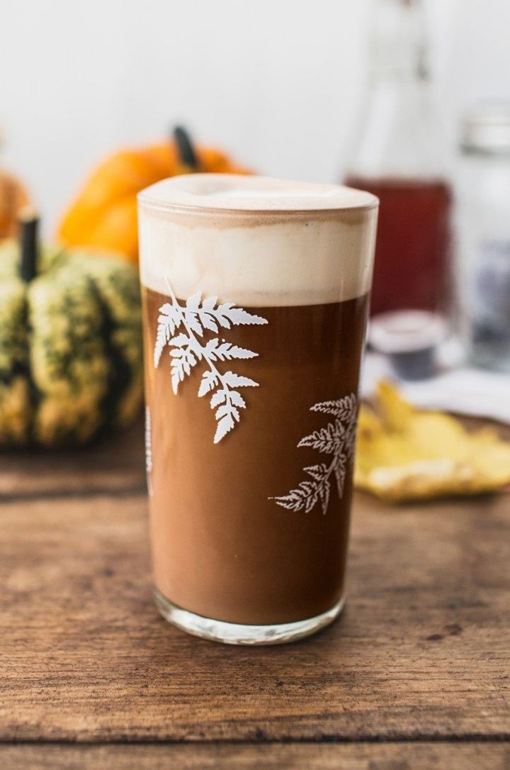 Leftover pumpkin ideas - pumpkin spiced latte