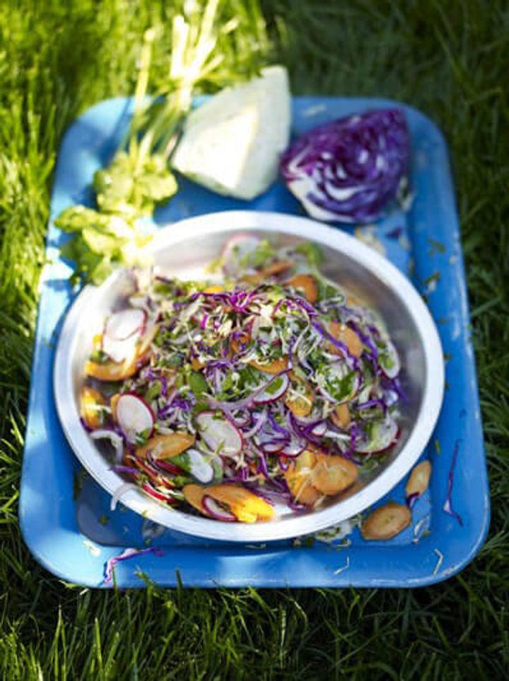Mexican street salad for cinco de mayo