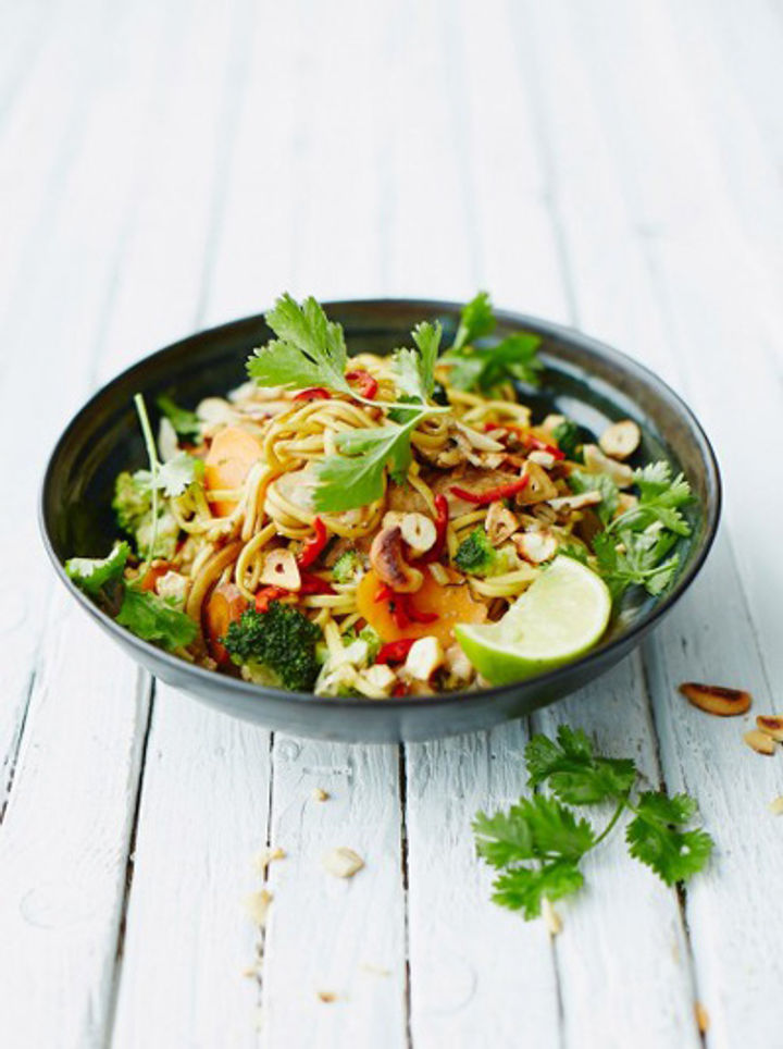 Easy chicken noodle stir-fry recipe