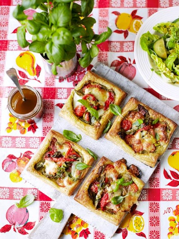 Vegetable tartlets - vegetarian recipes