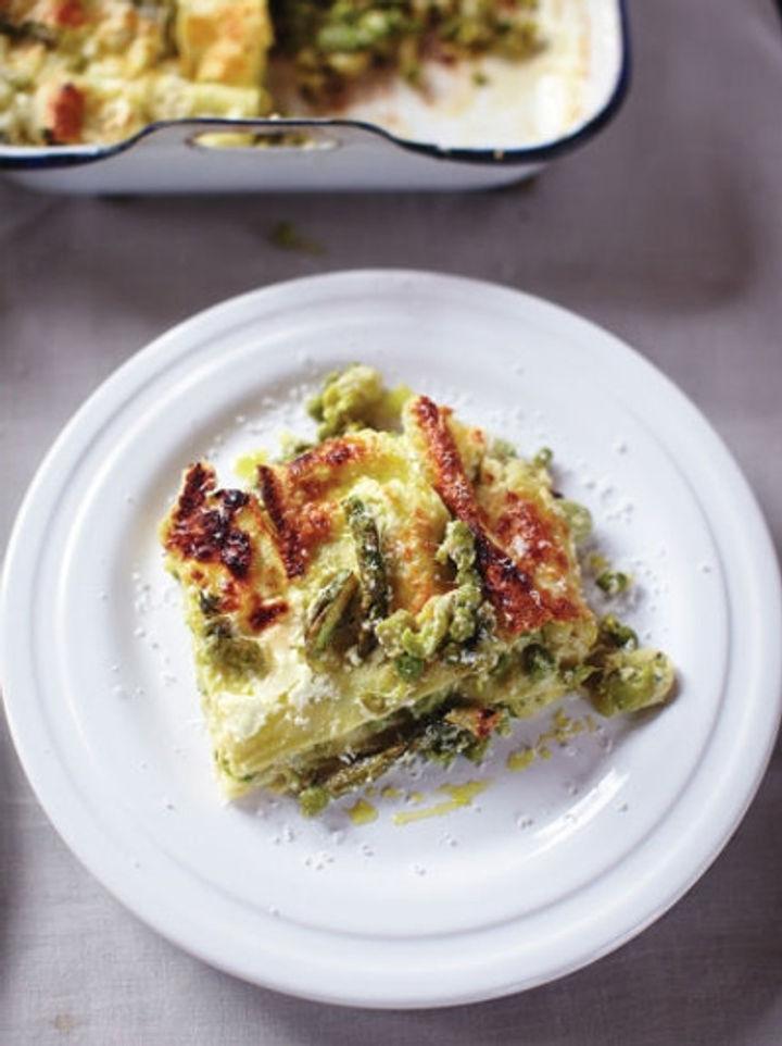 Summer veg lasagne recipe