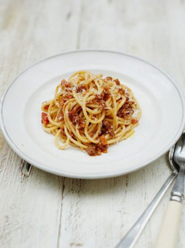 Family spaghetti bolognese recipe