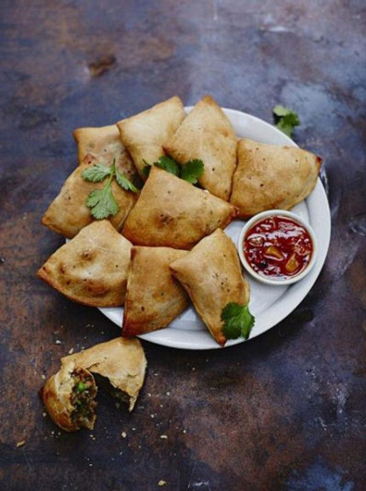 Veggie samosa recipe