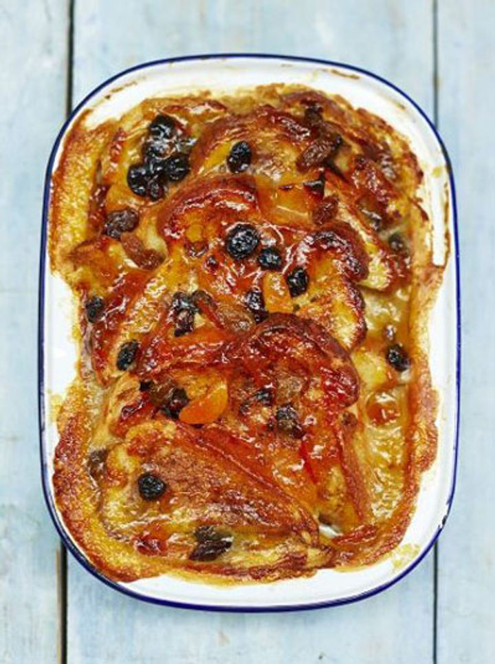 Vegan bread and butter pudding recipe