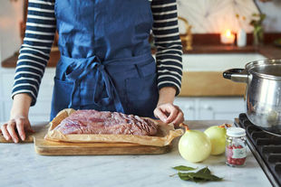 Step-by-step: how to make salt beef