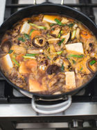 Korean chicken hotpot