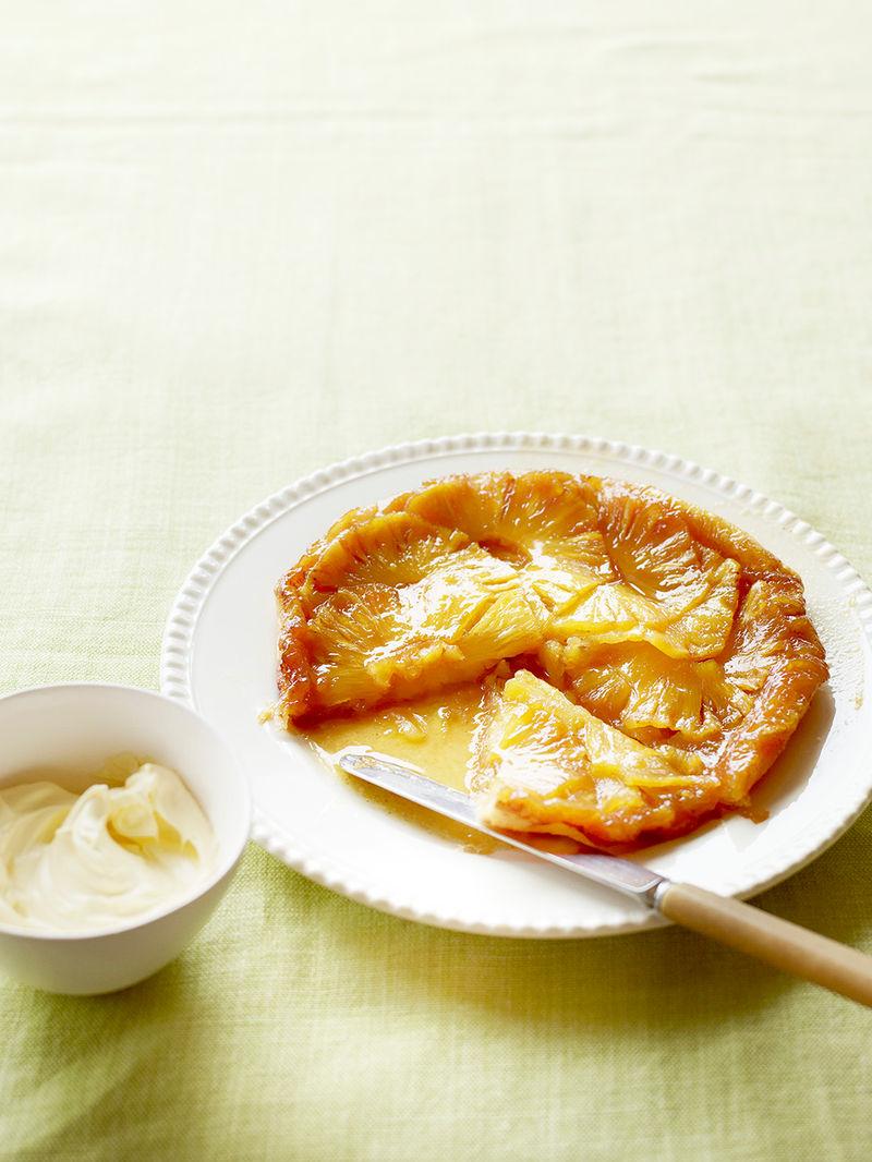 Pineapple tatin