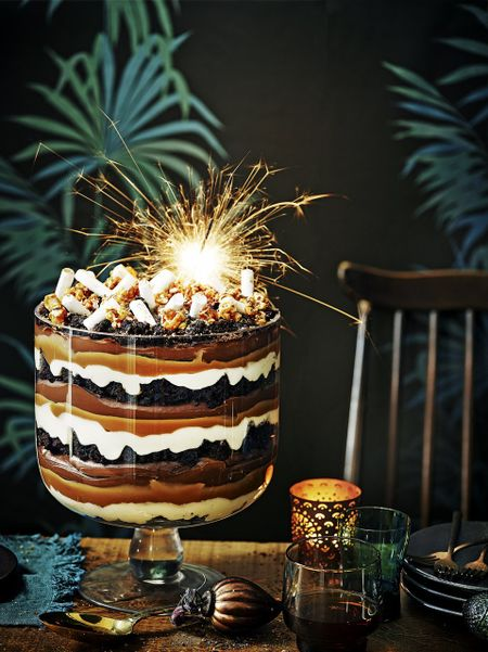 Epic Chocolate Trifle Jamie Oliver Recipes