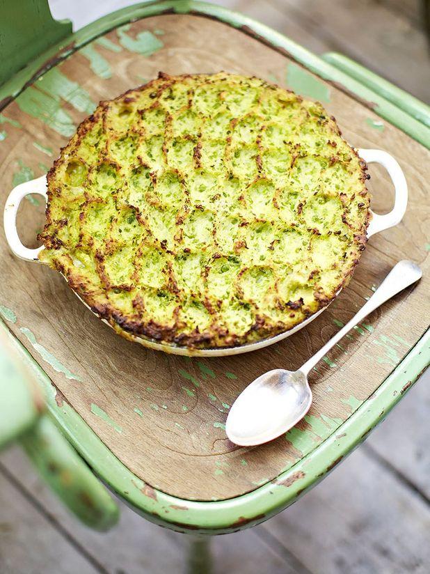 Sweet pea fish pie