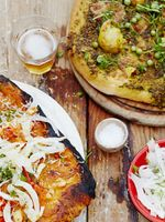 Pesto Genovese Pizza